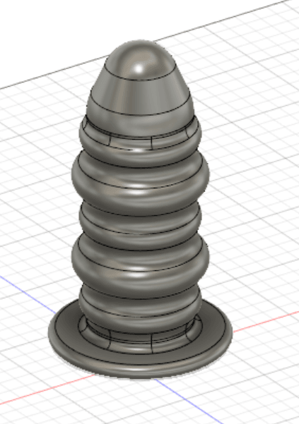 1.png Download free STL file Anal Dildo • Model to 3D print, itsallinyourhead1