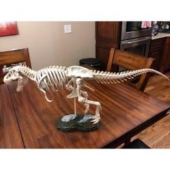 Descargar modelo 3D gratis Esqueleto de T-Rex, randallMan68