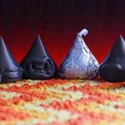 Download 3D printer model Death Kisses (Set of 6) , friezechris