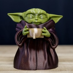 Download STL Little Yoda, Inspyre3d