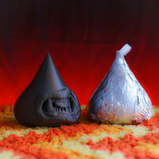 Télécharger plan imprimante 3D Bisous de la mort (lot de 6), friezechris
