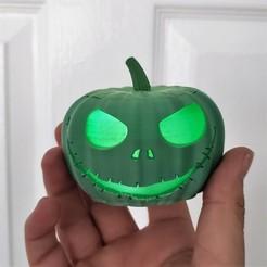 Descargar Modelos 3D para imprimir gratis Jack Skellington Calabaza, friezechris