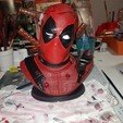 3D print files DEADPOOL BUST, raffinib