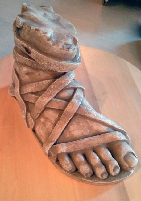 product_image_11831.jpg Download free STL file The Leg of Achilles • 3D printable model, history3Dprint