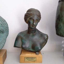 Modelos 3D para imprimir gratis Venus de Milos, history3Dprint