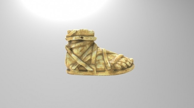 product_image_11894.jpg Download free STL file The Leg of Achilles • 3D printable model, history3Dprint