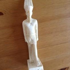 Download free STL files Pharaoh Merankhre Mentuhotep, MarcoDaCunia55