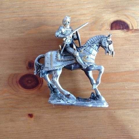 product_image_6063.jpg Download free STL file Knight Figurine on Horse • 3D printable design, MarcoDaCunia55