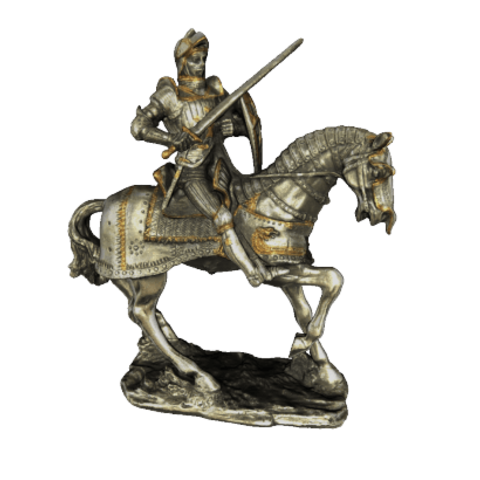 product_image_6064.png Download free STL file Knight Figurine on Horse • 3D printable design, MarcoDaCunia55