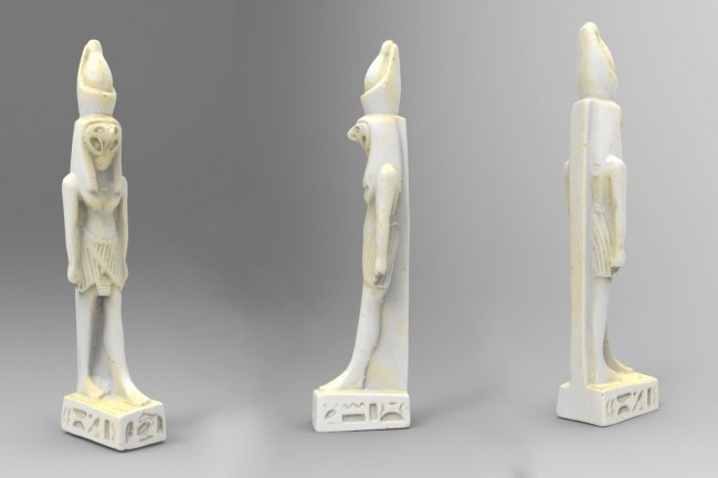 product_image_13576.jpg Download free STL file Ancient Egyptian Figurine of God Horus • 3D printable design, MarcoDaCunia55