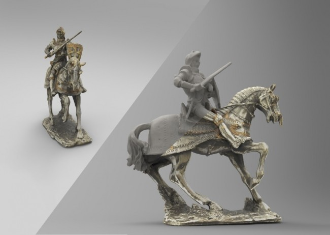 product_image_13115.jpg Download free STL file Knight Figurine on Horse • 3D printable design, MarcoDaCunia55