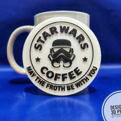 2.jpeg Télécharger fichier STL Couverture de tasse à café Star War imprimée en 3D • Modèle à imprimer en 3D, Crafts_ineer