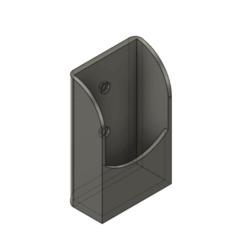 3.png Télécharger fichier STL Support de télécommande pour climatiseur universel • Design à imprimer en 3D, Crafts_ineer
