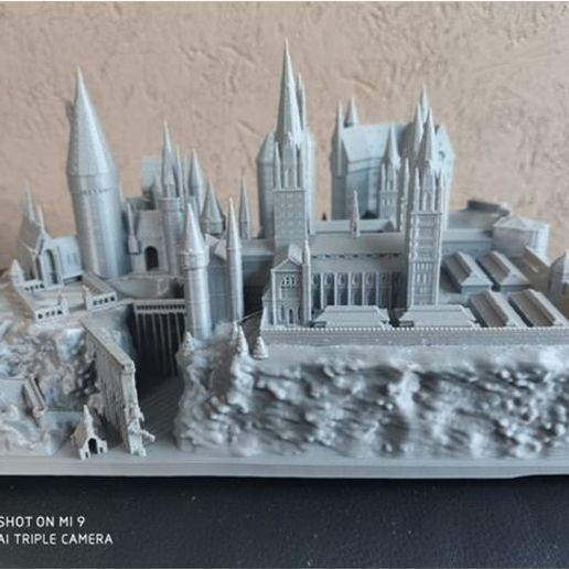 Download free 3D printer designs harry potter hogwarts hogwarts hogwarts, razenco