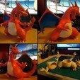 Modelos 3D Dracofeu / Charizard, Hawo