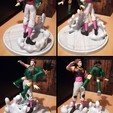 Download 3D printing models Hisoka Vs Gon Hunter x Hunter, Hawo