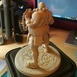 Free 3d printer designs Monk Warrior / Moine Guerrier, Hawo