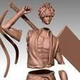 3D printer files Ichigo Kurosaki Bleach figurine, Hawo