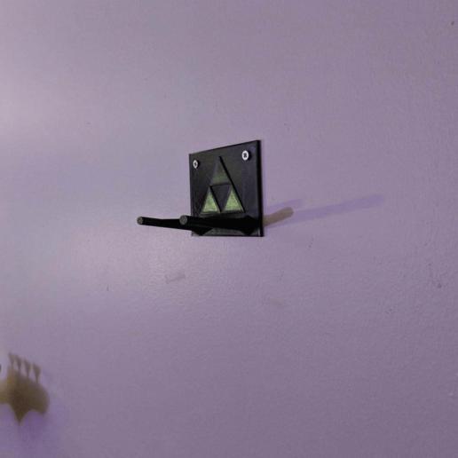 mount_cropped.png Download free STL file Wall Mount for Majora's Mask (full size) • 3D printer model, 3DPrintDogs