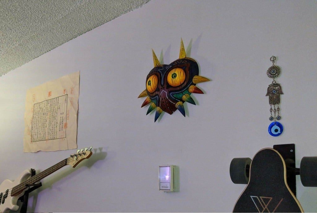 wall_cropped.png Download free STL file Wall Mount for Majora's Mask (full size) • 3D printer model, 3DPrintDogs