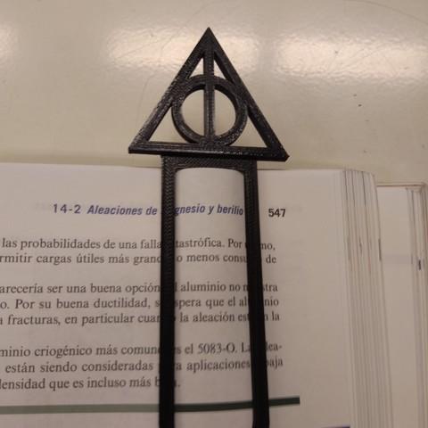 Descargar Modelos 3d Marca Pagina Reliquias De La Muerte Harry