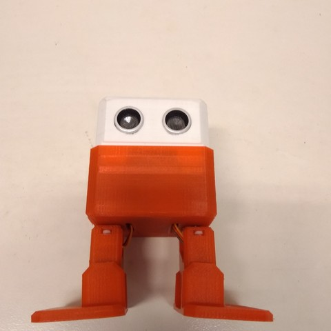 Download free 3D printing files Robot Otto DIY - Roboteam, RoboteamChile
