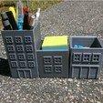 Modèle 3D gratuit Organisateurs de fournitures de bureau, saya