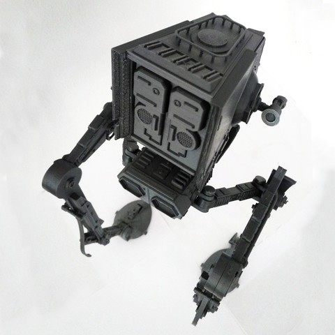 Stl Star Wars Atst Walker Ready To Print With Instructions Cults