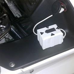 Download STL SjCam 7 VFR motorbike battery cover, SPecBut