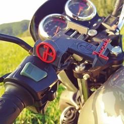 Download 3D model Junak 123 motorbike phone mount, SPecBut