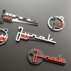 Download 3D print files Keychains JUNAK 123, SPecBut