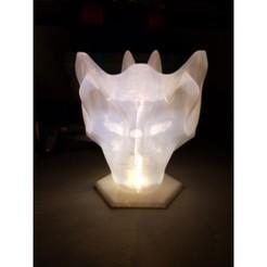 Download free 3D printing templates Hollow Art Lamp, EricsDIY
