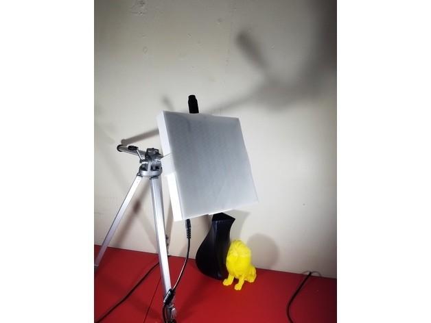 b4e3355b35726e1f3da635b894fdadcd_preview_featured.jpg Télécharger fichier STL gratuit Bright LED Light • Objet pour imprimante 3D, EricsDIY
