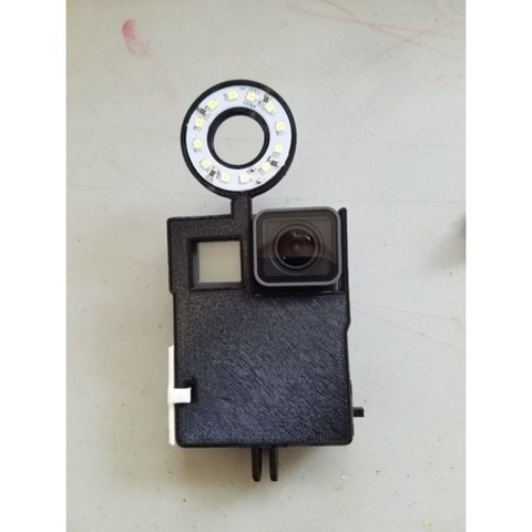 Free 3D printer model GoPro Hero 5 Light, EricsDIY