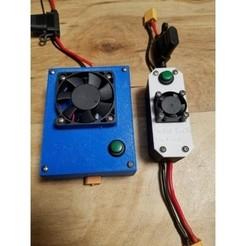 Descargar modelos 3D gratis Caso LM2596 actualizado, EricsDIY