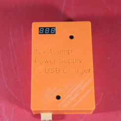Free 3D print files Solar/Baterry DC-DC Power Supply, EricsDIY