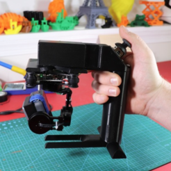 Free 3d printer model DIY Handheld Gimbal, EricsDIY