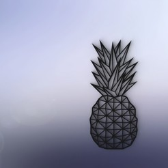 3D print files pineapple decoration, Justinclaes