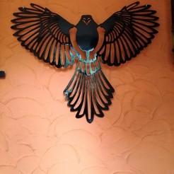 Download 3D print files eagle, Justinclaes