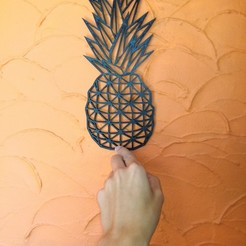 Download free 3D printing models decorative pineapple, Justinclaes