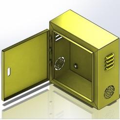 3d print files Yellow shelf, Go-kart12