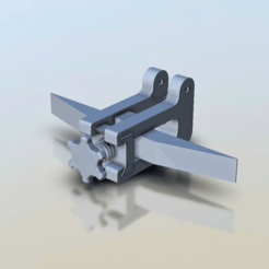 Screenshot.png Download free STL file Anet A8 Y-axis Tensioner (works with toothed pulley) • 3D printer object, madizmo