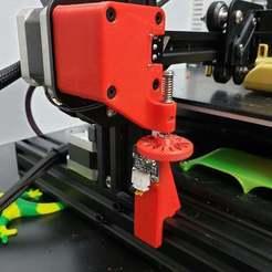 20190403_191512.jpg Download free STL file Ender-3 Z endstop fine adjustment • 3D printable object, madizmo