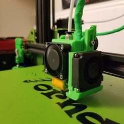 27501030_10159801377125063_7304380536369932484_o.jpg Télécharger fichier STL gratuit Module de ventilateur de série pour le support modulaire e3D V6 CR-10 Heavy Duty personnalisable • Modèle pour impression 3D, madizmo