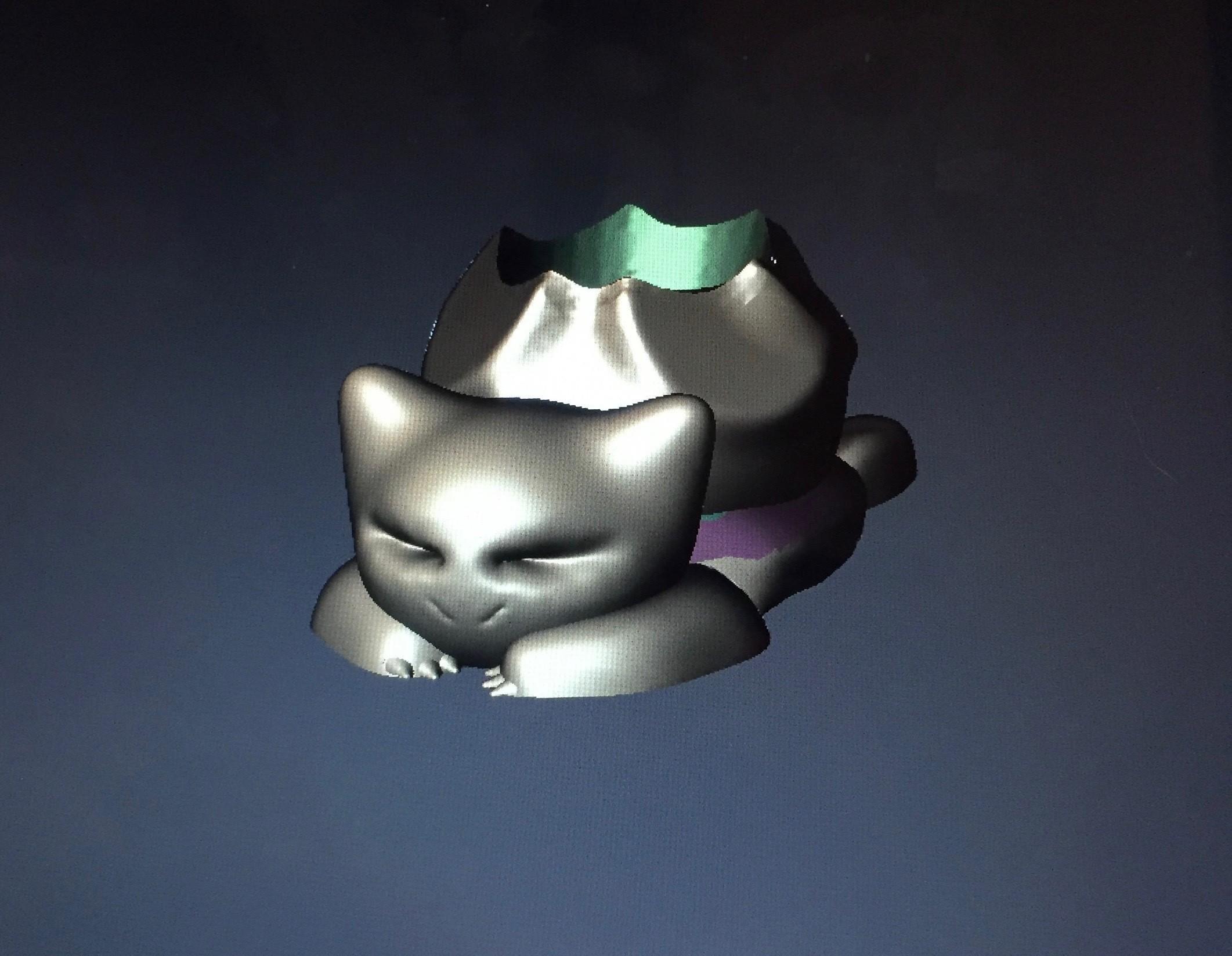 IMG_0953.jpg Download free STL file Bulbasaur Planter • 3D printing design, 3Designer