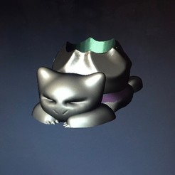 3d printer designs Bulbasaur Planter, 3Designer