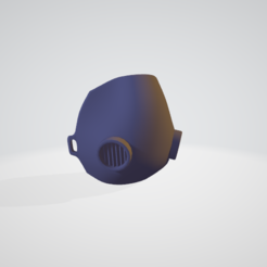 Descargar Modelos 3D para imprimir gratis Máscara anti escupitajo, bjpaque5