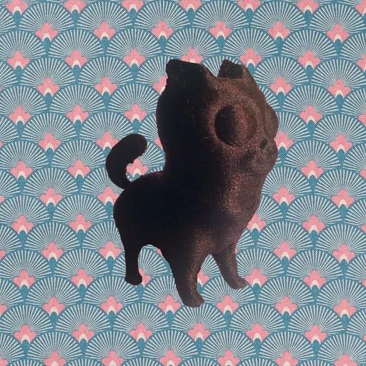 Télécharger fichier STL gratuit chien decoratif • Plan pour impression 3D, bjpaque5