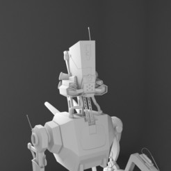 Télécharger fichier OBJ robot • Design imprimable en 3D, bjpaque5