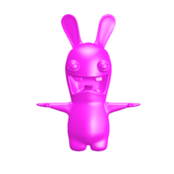Download free 3D printer designs Rabbit Cretin, bjpaque5